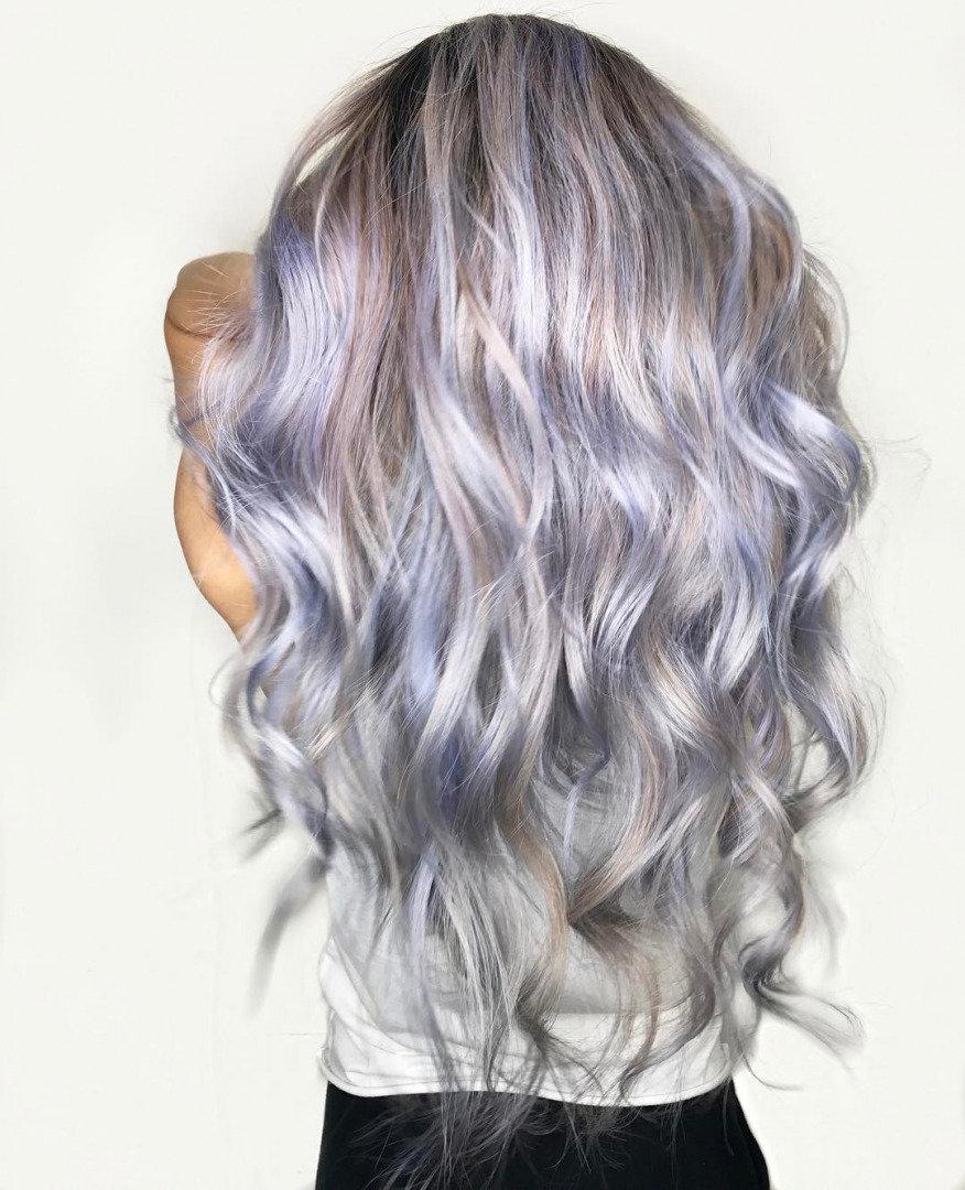 Yeni Trend Saç Rengi: Grurple! - 1