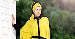 Tesettür Giyimde Sarı Renkli Kıyafetler Nasıl Kombinlenir?